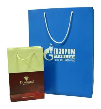 Изготовление упаковки, бумажных пакетов, корпоративных